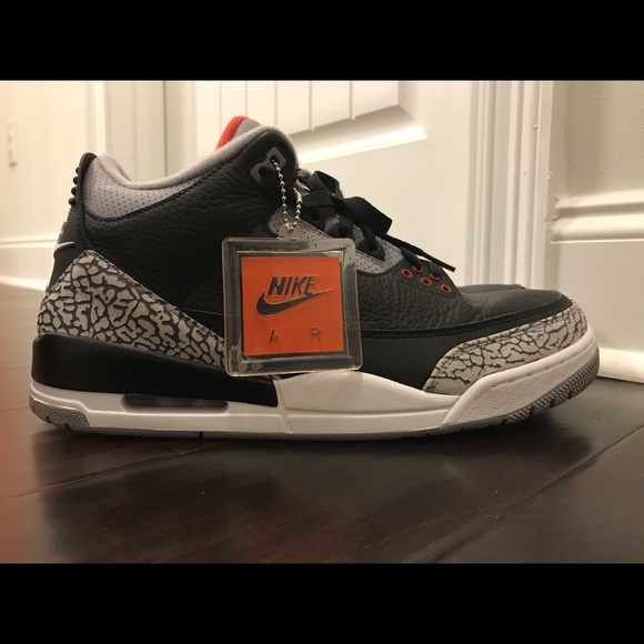 release date: f33f9 6db2d Jordan 3 Black Cement (2018)
